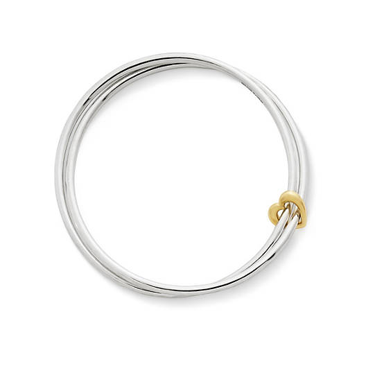 View Larger Image of Heart of Gold Combo Bangle Bracelet