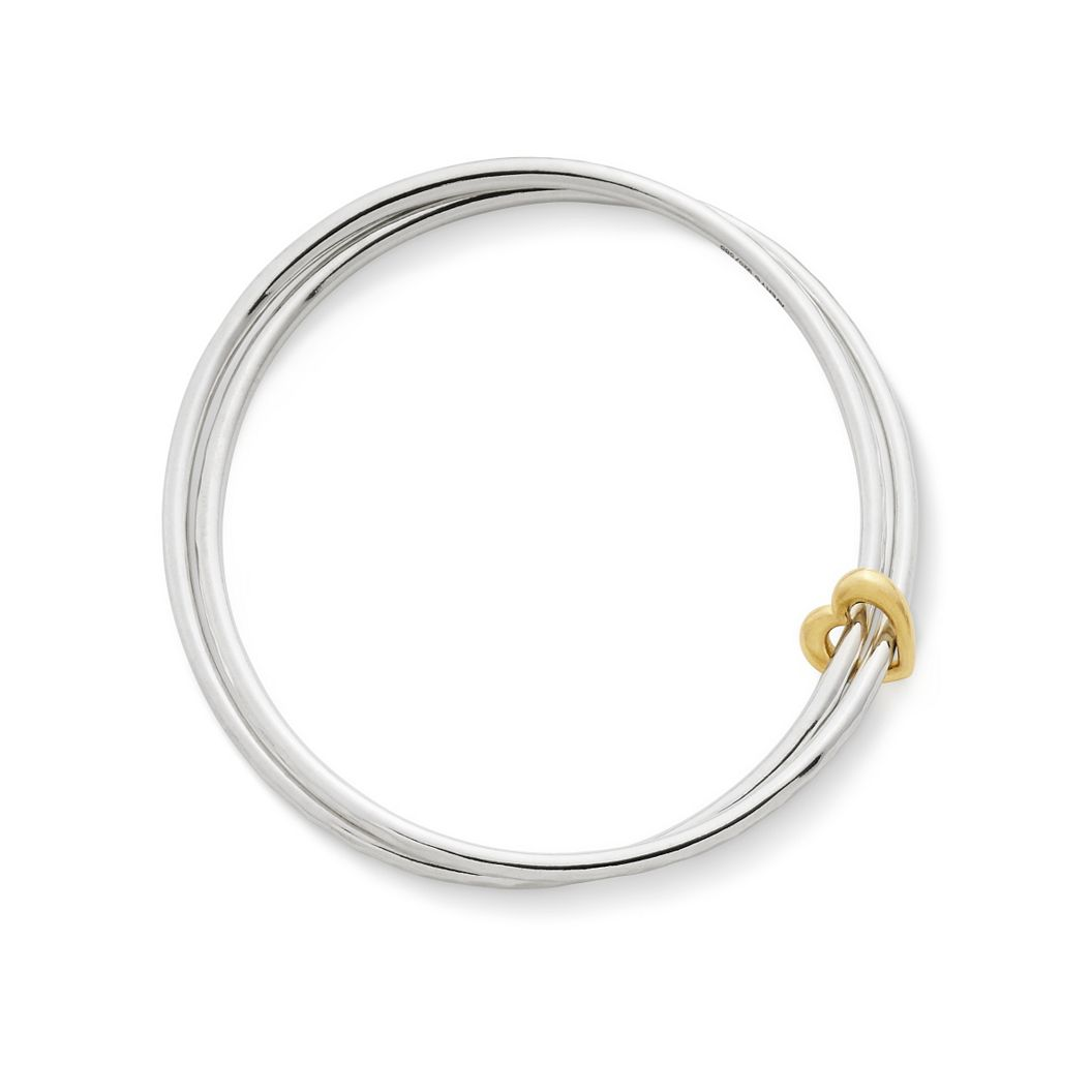 Heart of Gold Combo Bangle Bracelet - James Avery 63abe882d