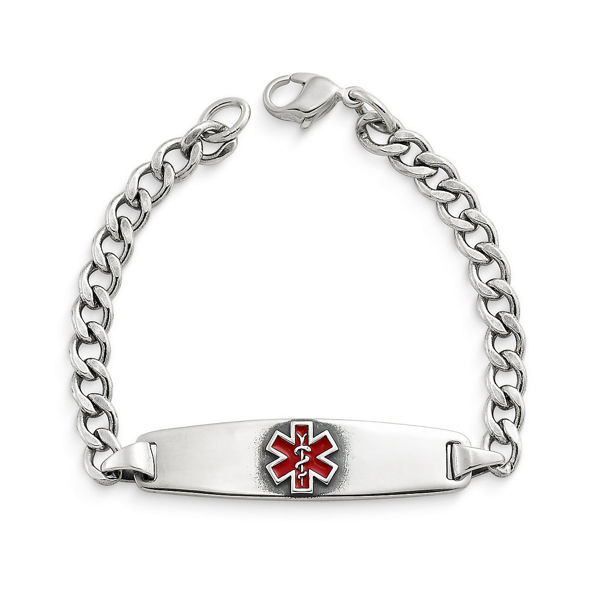 Enameled Medical Alert Bracelet Share