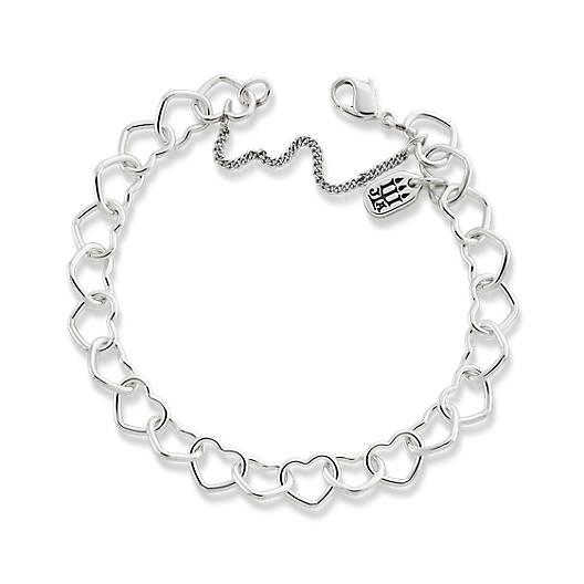 Connected Hearts Charm Bracelet