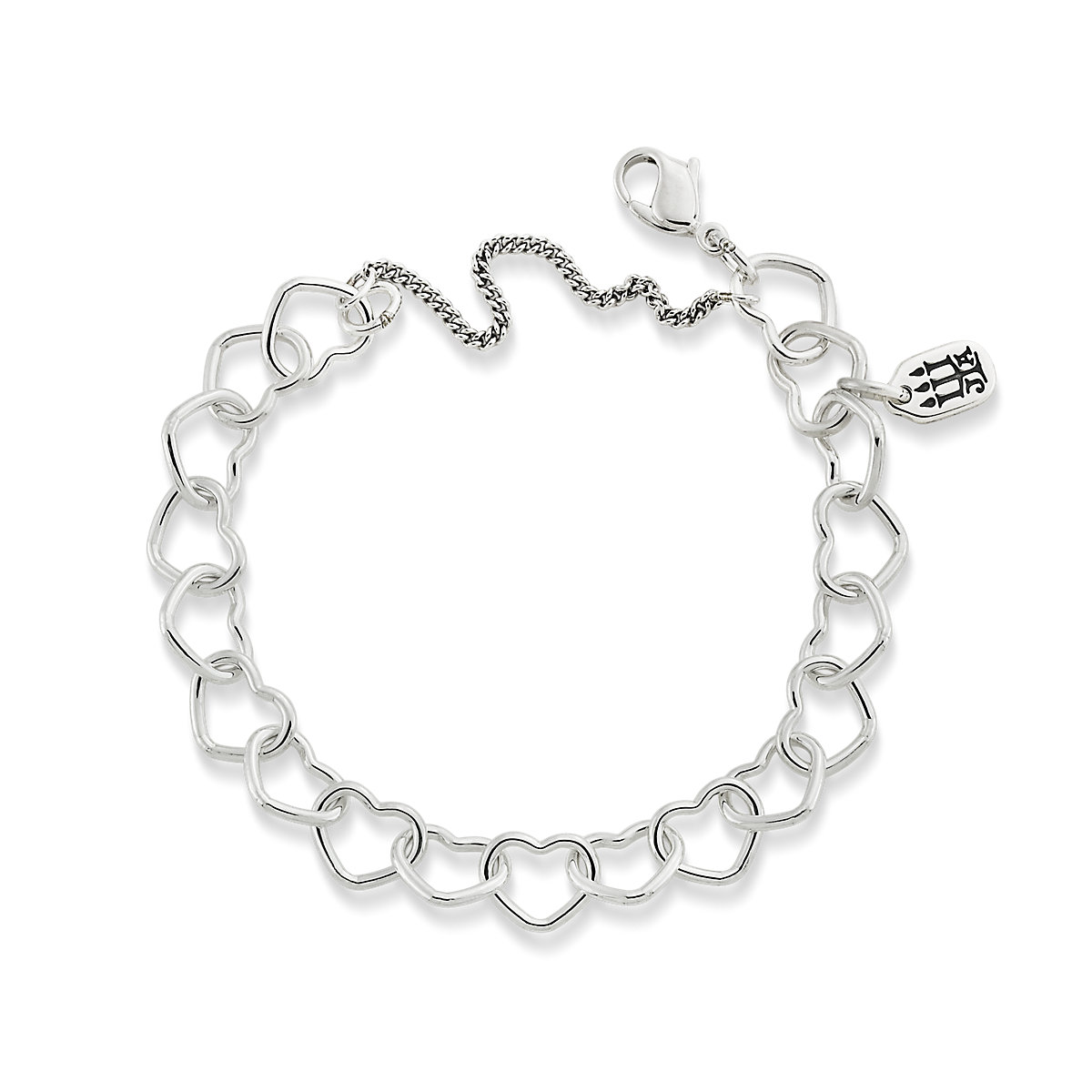 id by sterling silver diamonds bracelet in peretti fit yard hei constrain elsa wid ed jewelry bracelets fmt the