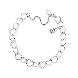 Connected Hearts Charm Bracelet