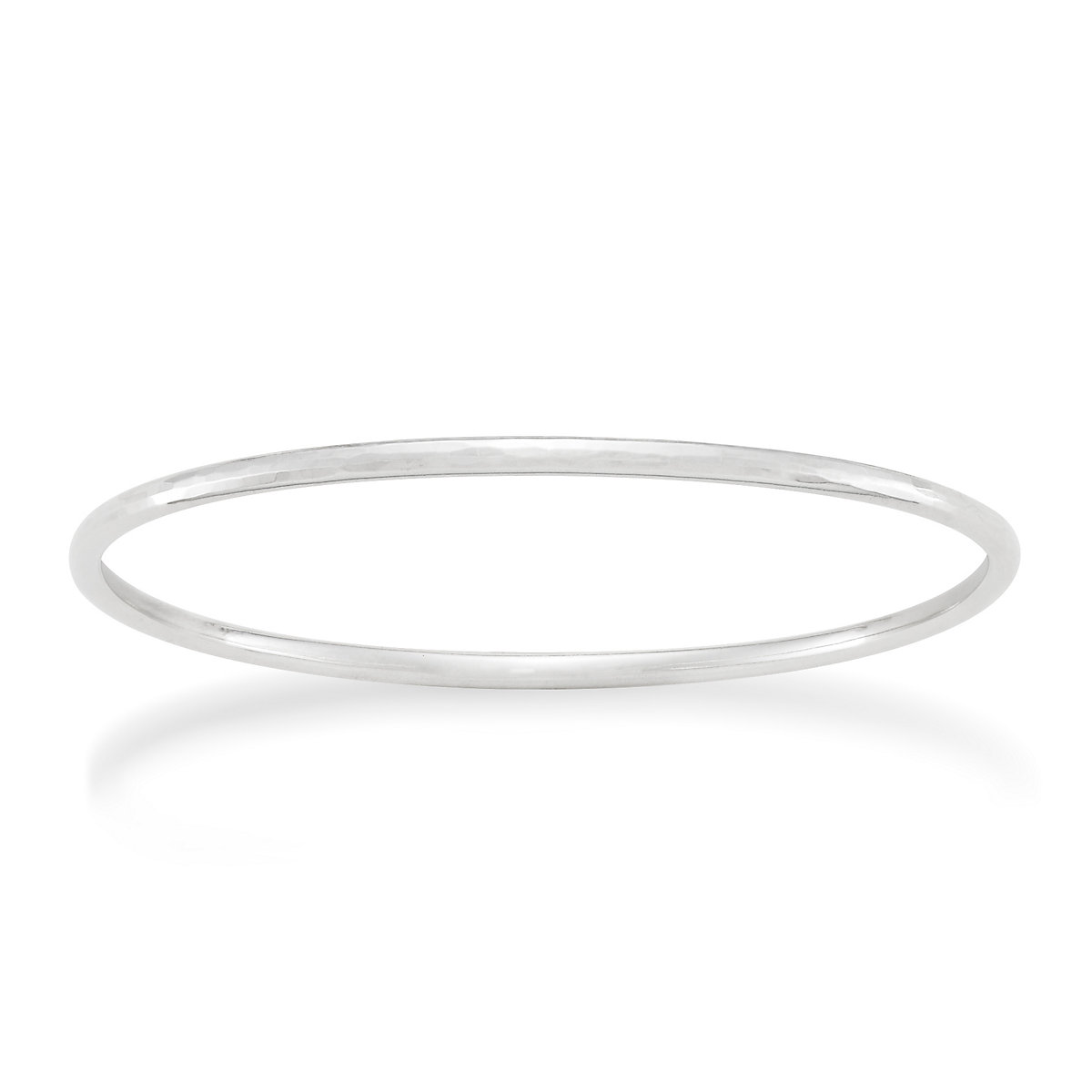 in thin lyst jewelry bangle bangles bracelet silver kors bracelets hinged gallery michael product oval metallic