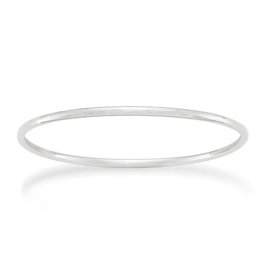 View Larger Image of Simple Hammered Bangle Bracelet