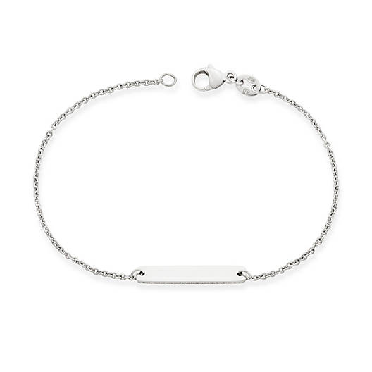 View Larger Image of Engravable Horizon Link Bracelet