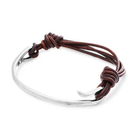 View Larger Image of As You Wish Leather Charm Bracelet