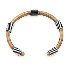 Bronze & Sterling Silver Kalahari Cuff Bracelet