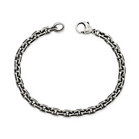 Forged Cable Link Bracelet