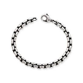 Rustic Box Link Bracelet