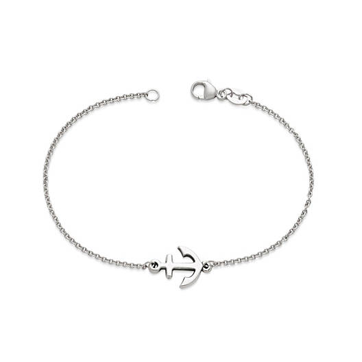 View Larger Image of Petite Anchor Link Bracelet