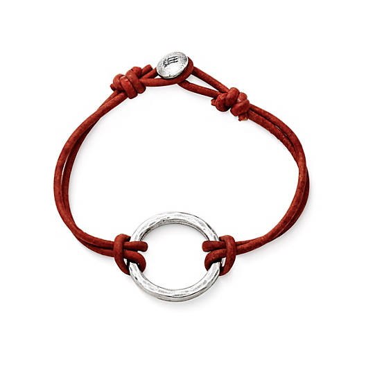 View Larger Image of Riata Leather Charm Bracelet