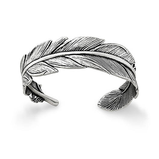 View Larger Image of Feather Cuff Bracelet