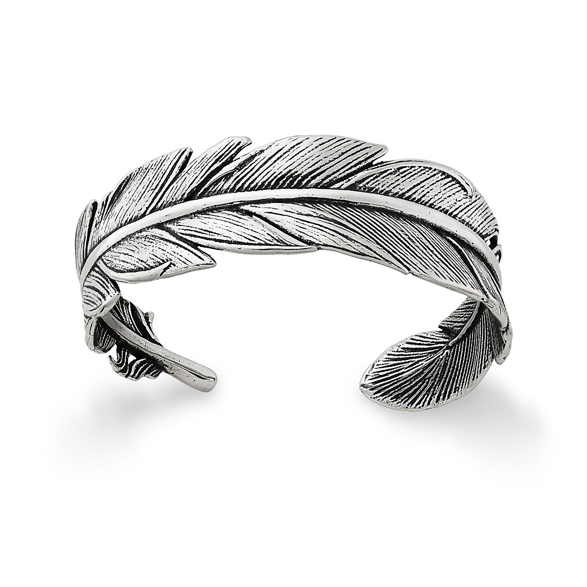 Next View Larger Image Of Feather Cuff Bracelet