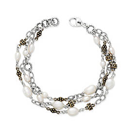 Marjan Bracelet with Cultured Pearls