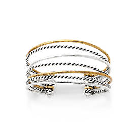 Multi-Layered Cuff Bracelet