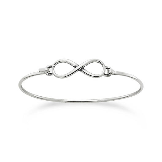 View Larger Image of Petite Infinity Hook On Bracelet
