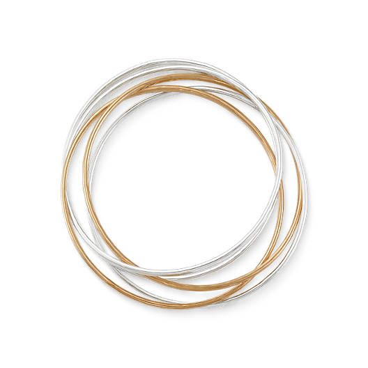 View Larger Image of Cascading Circles Bangles Bracelet