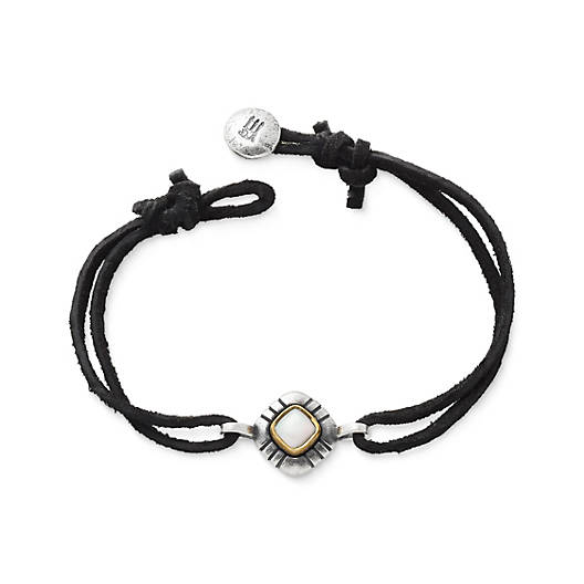 View Larger Image of Pueblo Mother of Pearl Leather Bracelet
