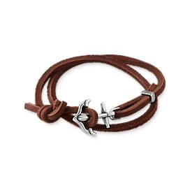Ancd In Faith Leather Bracelet