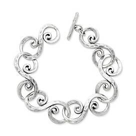 Forged Gentle Waves Bracelet