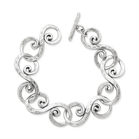 View Larger Image of Forged Gentle Waves Bracelet