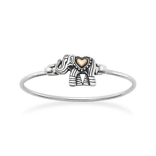 Adorned Elephant Hook-On Bracelet