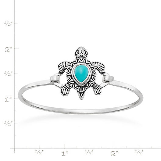 View Larger Image of Turquoise Turtle Hook-On Bracelet