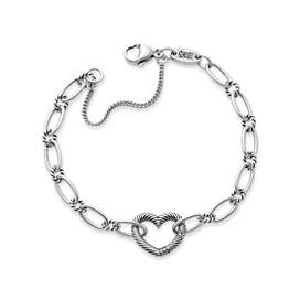 Changeable Heart Charm Bracelet