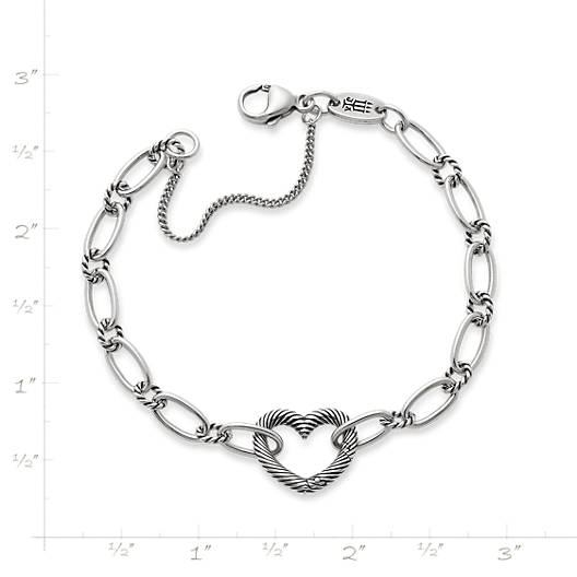 View Larger Image of Changeable Heart Charm Bracelet