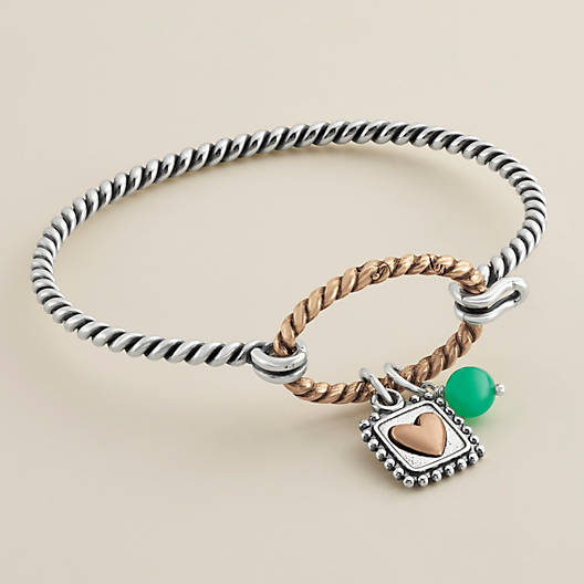 View Larger Image of Changeable Twisted Wire Hook-On Bracelet
