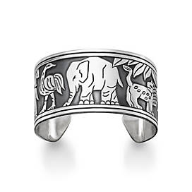African Animal Cuff Bracelet