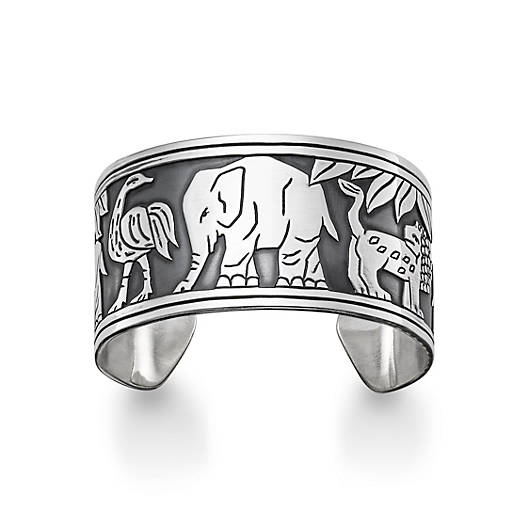 View Larger Image of African Animal Cuff Bracelet