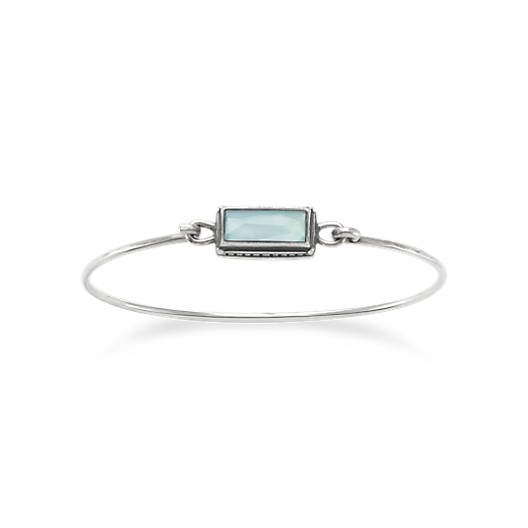 Palais Bleu Clair Triplet Hook-On Bracelet