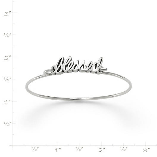 "View Larger Image of ""Blessed"" Hook-On Bracelet"
