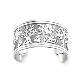 Coral Garden Cuff Bracelet