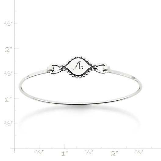 View Larger Image of Memoir Initial Hook-On Bracelet