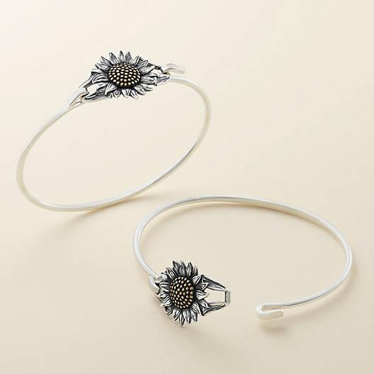View Larger Image of Wild Sunflower Hook-On Bracelet