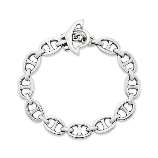 View Larger Image of Anchor Link Bracelet
