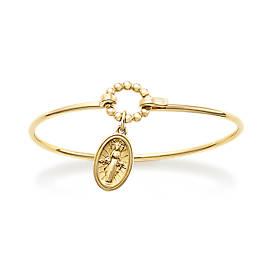 Virgin Mary Hook-On Bracelet