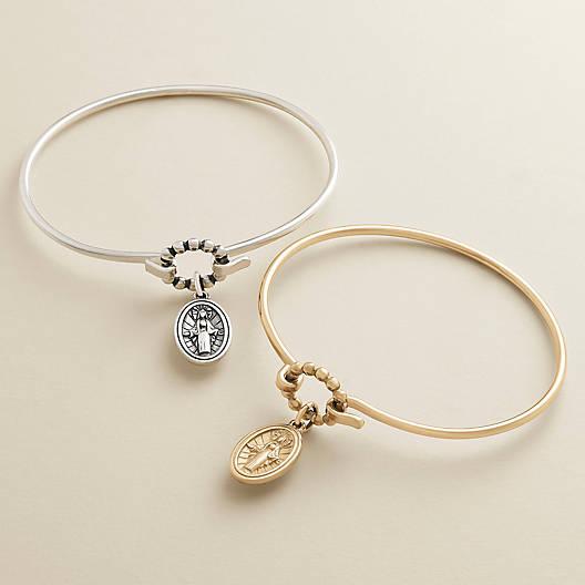 View Larger Image of Virgin Mary Hook-On Bracelet