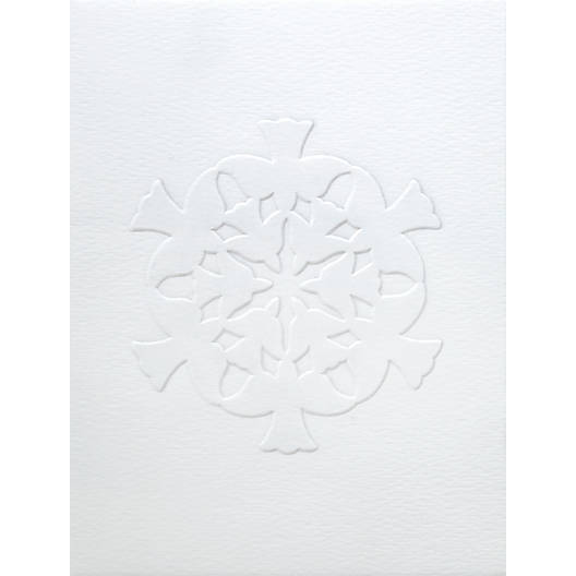 View Larger Image of Dove-Snowflake Cameo Cards