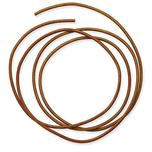 View Larger Image of Leather Cord, 2mm