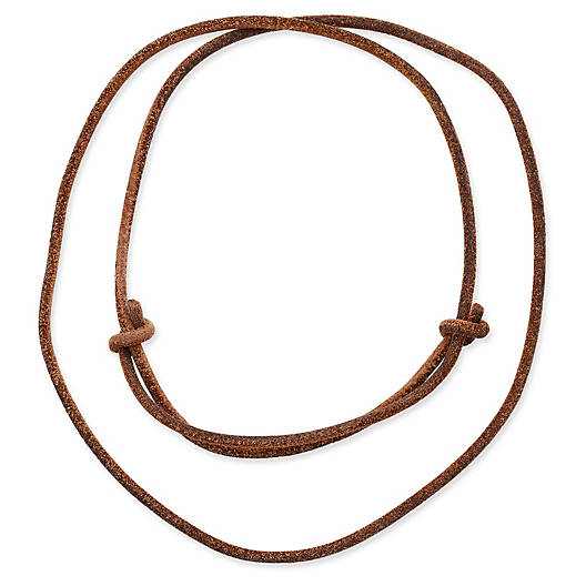 View Larger Image of Rust Leather Cord