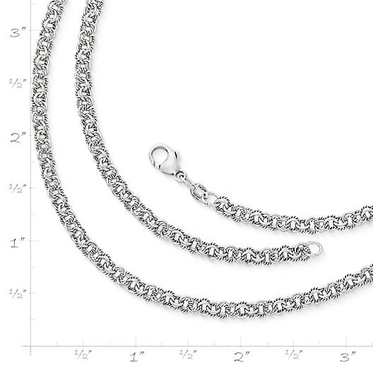 View Larger Image of Twisted Wire Double Link Chain
