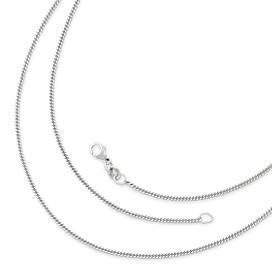 Silver necklaces pendant necklaces james avery fine curb chain mozeypictures Image collections