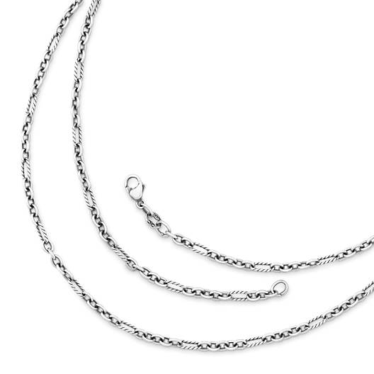 View Larger Image of Medium Cable Figaro Chain