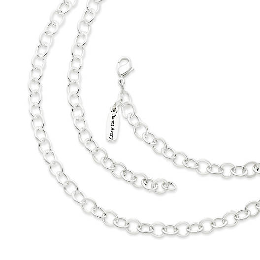 View Larger Image of Forged Link Charm Necklace
