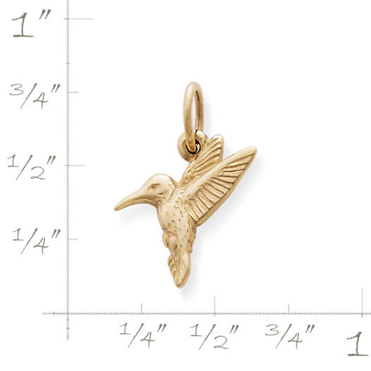 View Larger Image of Hummingbird Charm