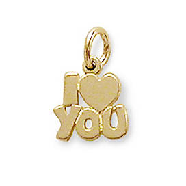 Charms for bracelets and necklaces james avery i love you charm aloadofball Image collections