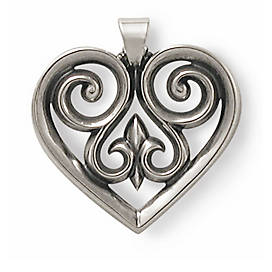 French Heart Pendant